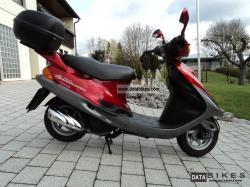 Kymco Heroism 125 - always reliable, always undated #9