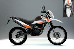 Riding the terrain with a powerful Loncin LX 200 GY-4A