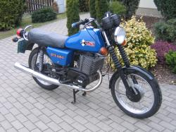 1984 MuZ ETZ 250 (with sidecar)