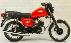 MZ ETZ 125 - with greetings from 90s #7