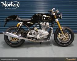 Norton Commando 961 Cafe Racer 2010 #8