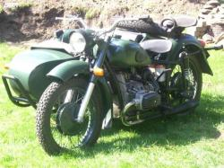One of the most popular classic bikes of the world, Dnepr MT 10 (with sidecar) #12