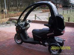 Palmo T150, or what a scooter your pizza delivery man used to drive?