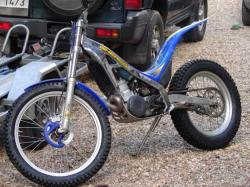 Sherco Trial 2.9 if fond of doing stunts