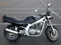 Suzuki GS 500 E (reduced effect) 1991 #9