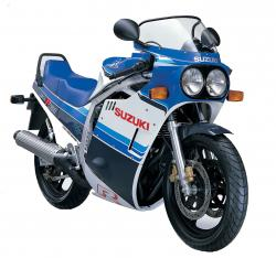 Suzuki GSX-R 750 (reduced effect) 1985