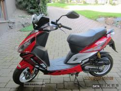 Sym Jet Red Devil 50 2008 #6