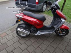 The efficient scooter Keeway ARN 125 #9