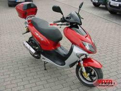 The efficient scooter Keeway ARN 125 #10