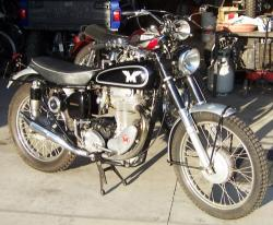 The Matchless G 80 E one of the vintage bikes from the late 80s #11
