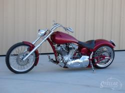 Titan Sidewinder Custom Softail Chopper #10