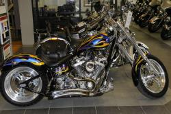 Titan Sidewinder Custom Softail Chopper #4