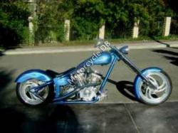 Titan Sidewinder Custom Softail Chopper #5