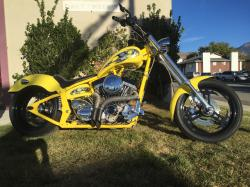 Titan Sidewinder Custom Softail Chopper #6