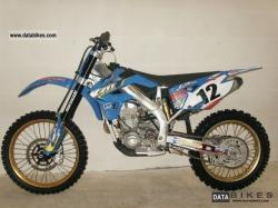 TM racing MX 530 F 2006 #10