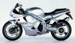 Triumph Daytona 750 (reduced effect) 1991
