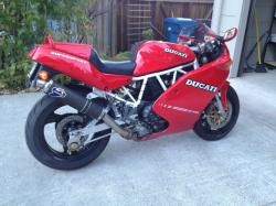 Triumph Daytona 750 (reduced effect) 1992 #2