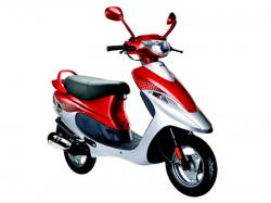 TVS SCOOTY - an attractive and fun scooter from TVS Motor