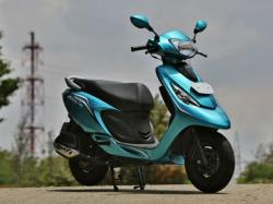 TVS SCOOTY - an attractive and fun scooter from TVS Motor #5