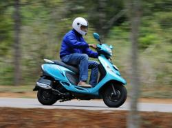 TVS SCOOTY - an attractive and fun scooter from TVS Motor #6