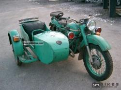 Ural M-63 (with sidecar) 1980