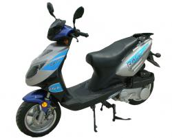 Veli 125 T-2: a middle-class scooter