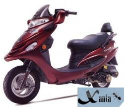 Veli 125 T-2: a middle-class scooter #4