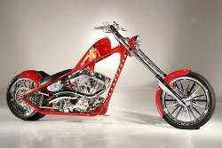 West Coast Choppers El Diablo Rigid 2010 #9