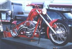 West Coast Choppers El Diablo Rigid 2010 #12