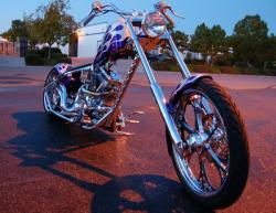 West Coast Choppers El Diablo Rigid 2010 #13