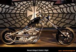 West Coast Choppers El Diablo Rigid 2010 #2
