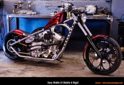 West Coast Choppers El Diablo Rigid 2010 #3