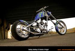 West Coast Choppers El Diablo Rigid 2010 #5
