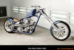 West Coast Choppers El Diablo Rigid 2010 #6