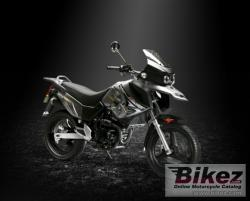Xingyue XY 250GY Dirt Bike shows the nature  #8