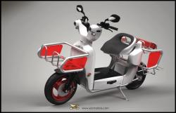 XOR XO2 125: you have never met such a compact scooter before! #7
