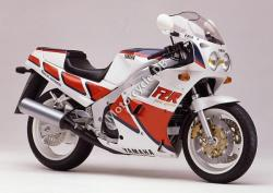 Yamaha FZR 1000 Genesis (reduced effect) 1988