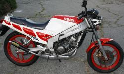 Yamaha RD 350 F (reduced effect) 1986 #9