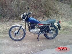 Yamaha SR 250 Special (reduced effect) 1981