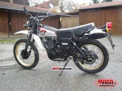 Yamaha SR 500 G (cast wheels) 1981 #7