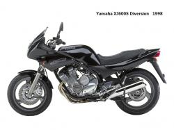 Yamaha XJ 600 S Diversion (reduced effect) #12