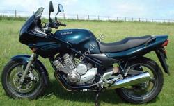 Yamaha XJ 600 S Diversion (reduced effect) 1992 #3