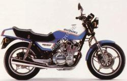 Yamaha XS 400 DOHC (reduced effect) 1986 #12