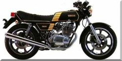 Yamaha XS 400 DOHC (reduced effect) 1987
