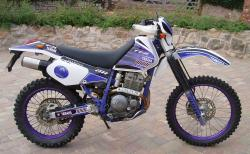 Yamaha XT 350 (reduced effect) 1988 #15
