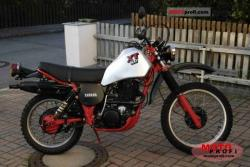 Yamaha XT 550 (reduced effect) 1982