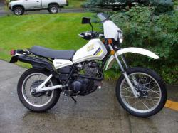 Yamaha XT 550 (reduced effect) 1983