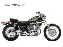 Yamaha XV 250 (reduced effect) #11