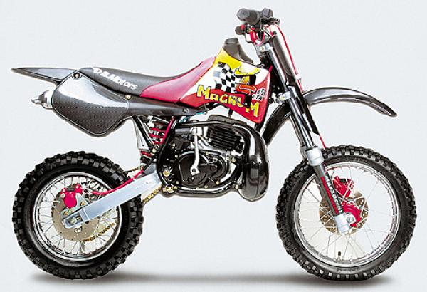Check this DB Motors Pirat 50 AC for a dirt track riding