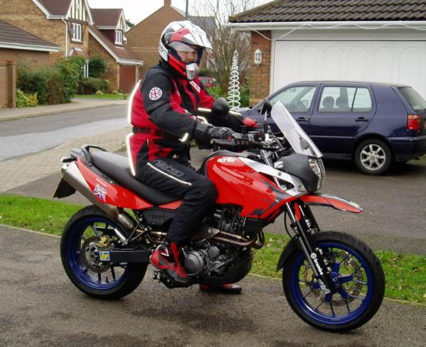 Aprilia Pegaso 600 (reduced effect)